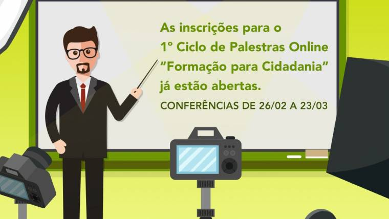 OSB lança 1º Ciclo de Palestras Online gratuito