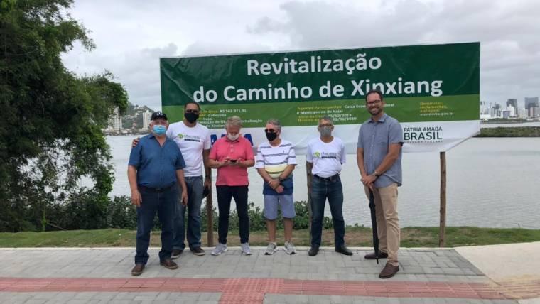 Caminho de acesso aos molhes do Porto de Itajaí ainda precisa de adequações